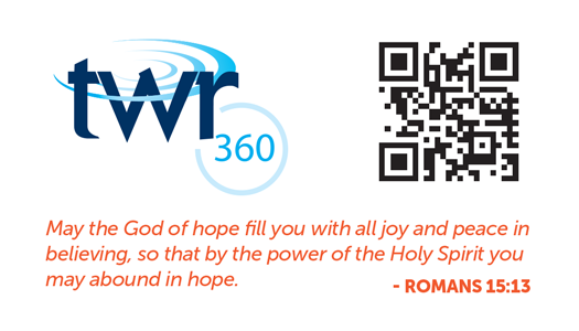TWR360 Need Hope Card Back